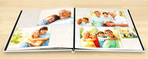 Create a beautiful photo book of your memories, layflat pages are the best for your pictures.
