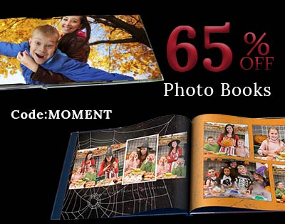 Create a beautiful holiday photo gift with a personalized book