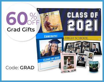 Custom gifts for your 2021 graduation and celebration