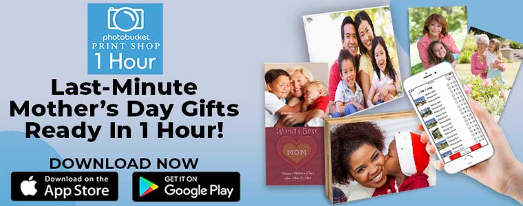 1 Hour Photo prints and last minute gifts for mom