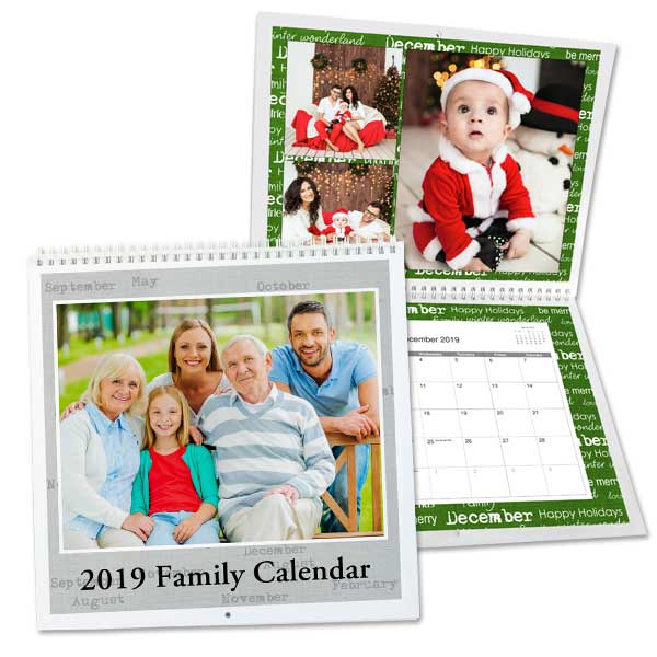2019 Personalized Photo Calendars