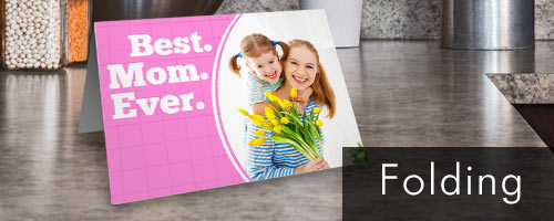 Create a classic folding card using your own photos for an unique greeting everyone will adore.