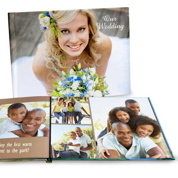 Share your favorite moments with ease by showcasing them in our custom lay flat photo books.