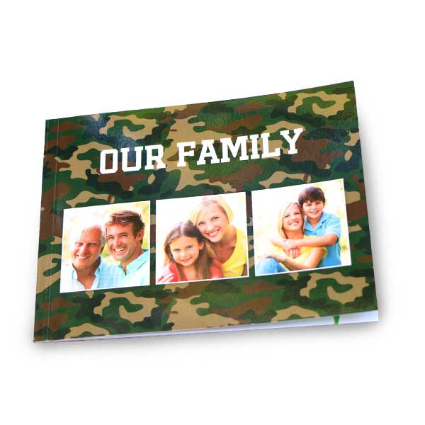 Create your own custom soft cover photo book for your everyday photos