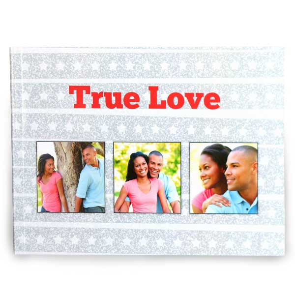 Beautiful custom cover 5x7 photo book for your family photos
