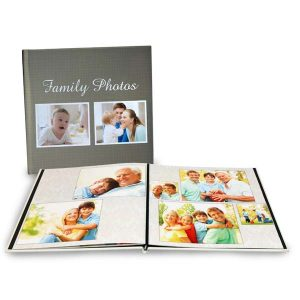 Create a beautiful lay flat photo book featuring pages that lay flat when opened