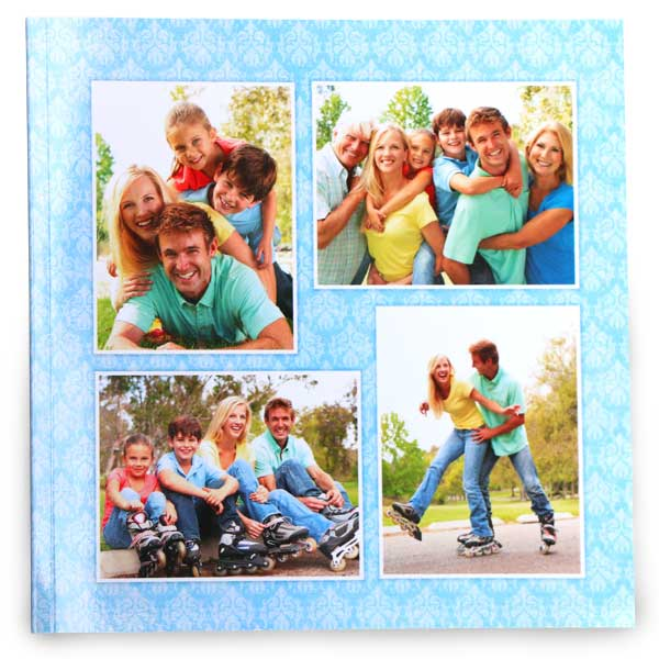 Create your own 8x8 custom soft cover photo book