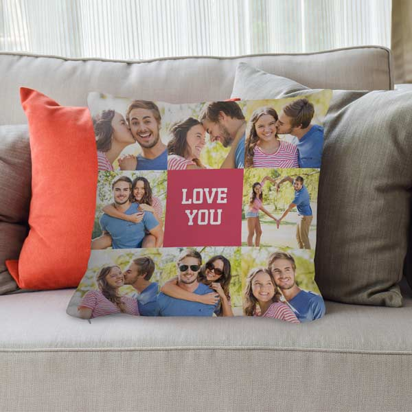 Create your own designer photo pillows and pillow cases for your home and outdoor living space
