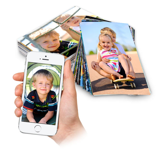 Order classic photo prints form Print Shop Lab, available in glossy or matte finish