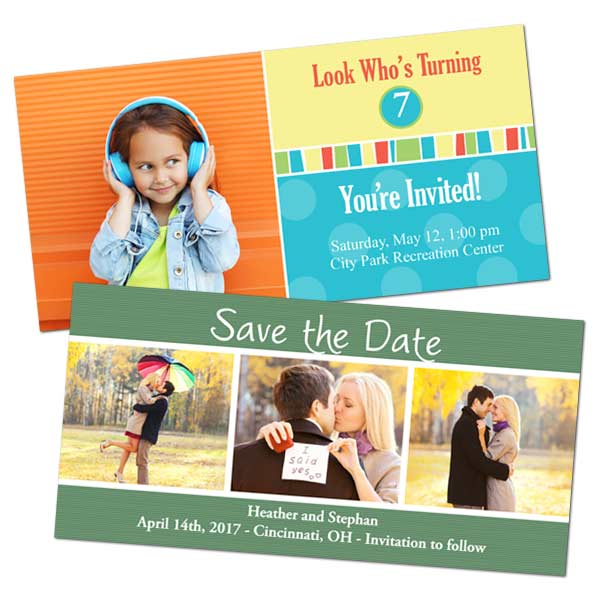 Create custom photo cards for any occasion with Print Shop Lab