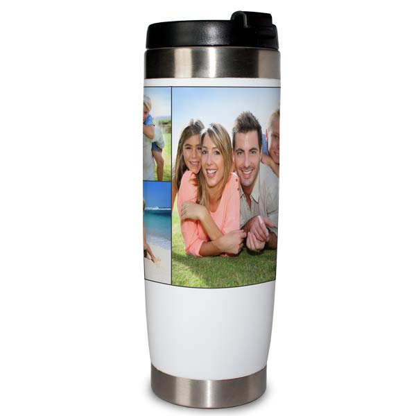 Perfect for your morning commute, create a travel tumbler to keep your drink hot