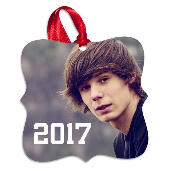 Commemorate a special occasion with an ornament, perfect for graduations