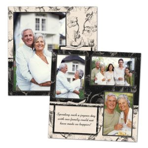 Create pages for your 8x8 scrapbook with Print Shop 8x8 digital scrapbook pages