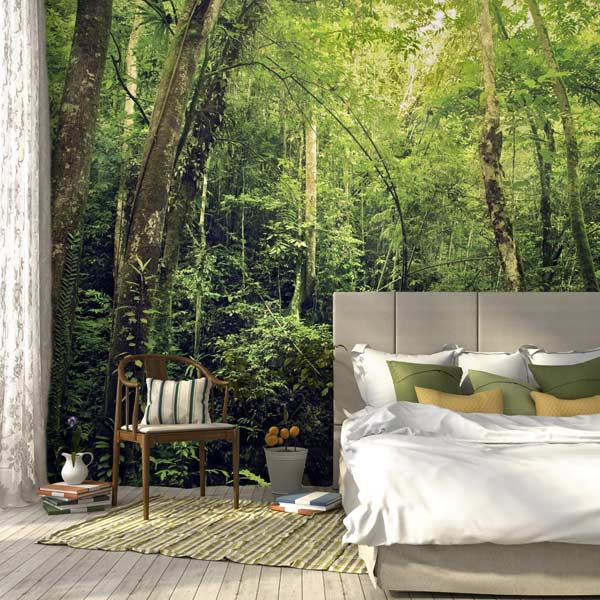 Fill your wall with beautiful scenery with a easy to hang wall mural of your favorite scenic photo