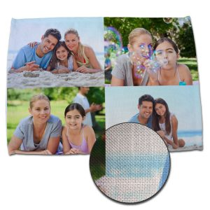 Create a photo collage place mat for your home and dining room, perfect for custom decorating