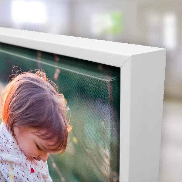 Floater frame canvas prints are an elegant way of highlighting any photographic treasure.