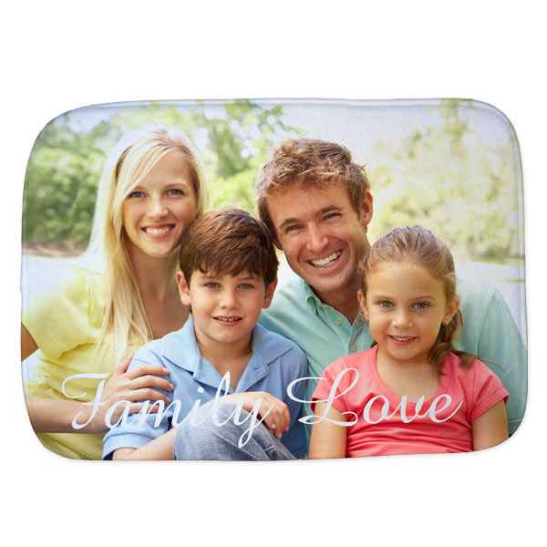 Perfect for your bathroom or kitchen, create a soft memory foam floor mat for use in your home