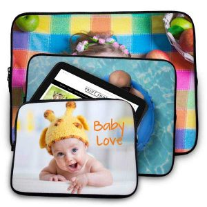 Show of your cherished images at work with a personalized laptop case for your computer