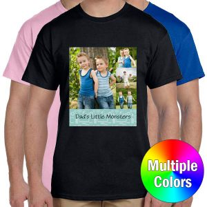 Crate a shirt for dad or for yourself with Print Shop personalized t-shirts