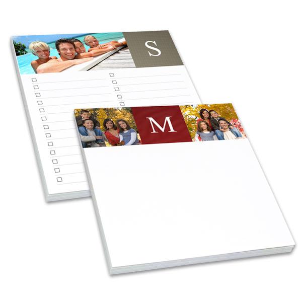 notepads checklists print shop
