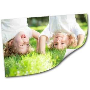 Update any wall instantly with our personalized peel and stick adhesive picture prints.