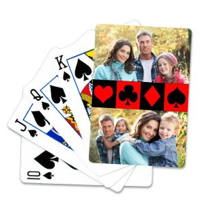 Liven up game night with family by designing your own deck of cards with your best photos.