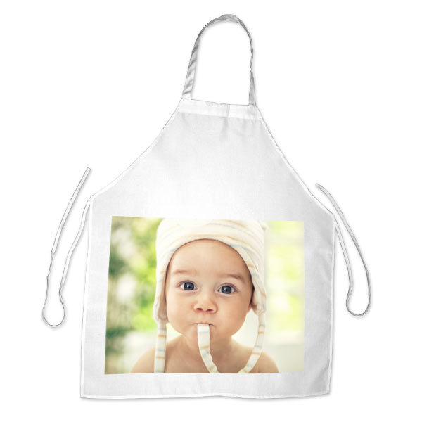 Create a beautiful photo apron for the cook in your family