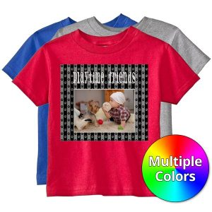 Create your own team shirts with the Print Shop Toddler and Youth size Personalized T-Shirts