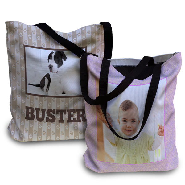 Crate a tote bag for the beach, your pet or your baby with Print Shop Lab