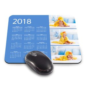 Create a custom calendar mouse pad for your desk and keep the date close by
