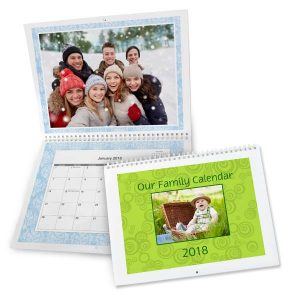 Create the best gift that can be used all year round with a personalized wall calendar
