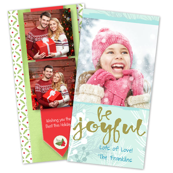 photo holiday cards glossy photo cards print shop