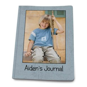 Photo custom paperback journal with quality matte photo cover