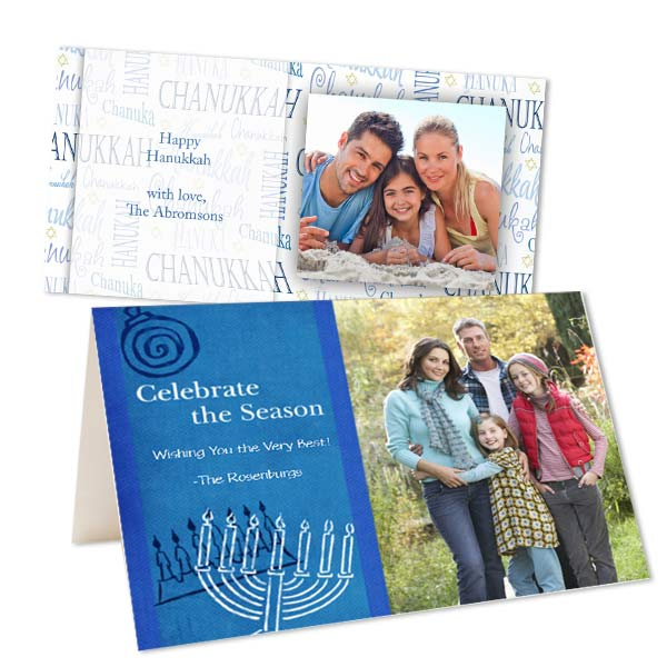 Create custom Hanukkah cards with Print Shop Personalized Greetings