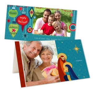 Create your own Christmas and Hanukkah cards for the holiday with Print Shop