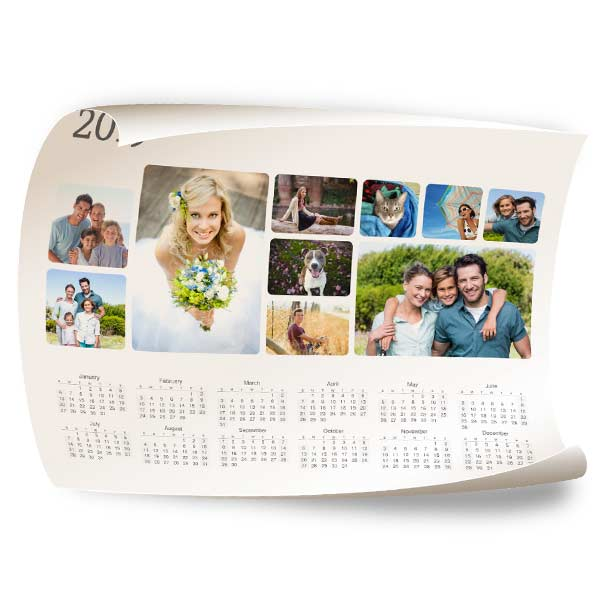 Choose from our many designs to aid you in creating a personalized poster calendar you can enjoy year round.