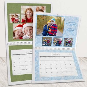 Create a custom photo calendar for 2019 which makes the perfect gift