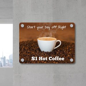Design your own signs for your business or shop on the Print Shop