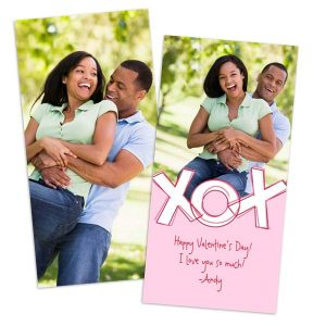 Add photos and create your own custom Valentines Day Cards