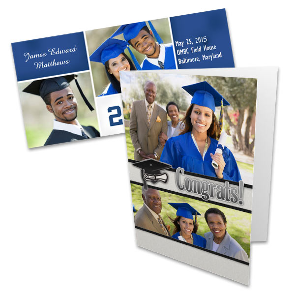 Create a card for your students Graduation with Photobucket Print Shop