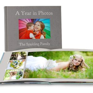 Commemorate an event with personalized lay flat photo books from Print Shop