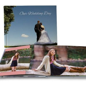 Perfect for your best photo memories, design your own coffee table photo book