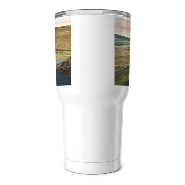 Personalize your own yeti style travel tumbler with photos and text from Print Shop.