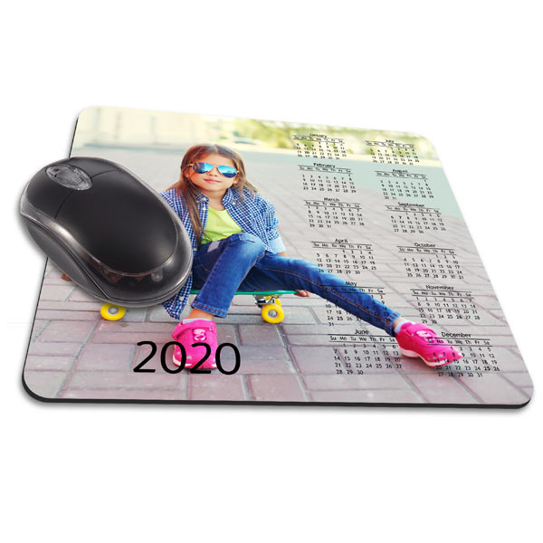 Personalize your space at work with a custom printed mouse pad featuring your favorite photo!