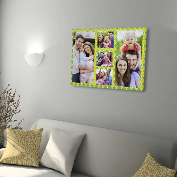 Perfect for any room, a photo collage canvas print will add flare to your home