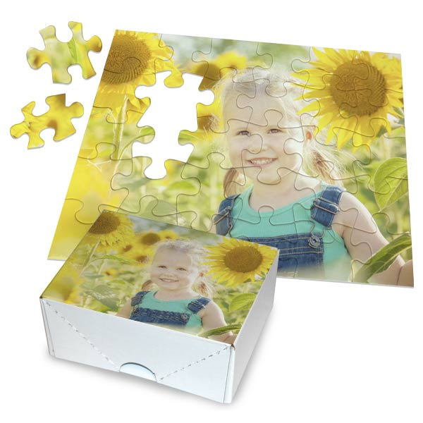 Create a photo puzzle for friends and family, available in multiple sizes