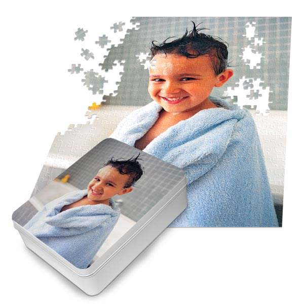 Turn your pictures into puzzles with Print Shop custom photo puzzles