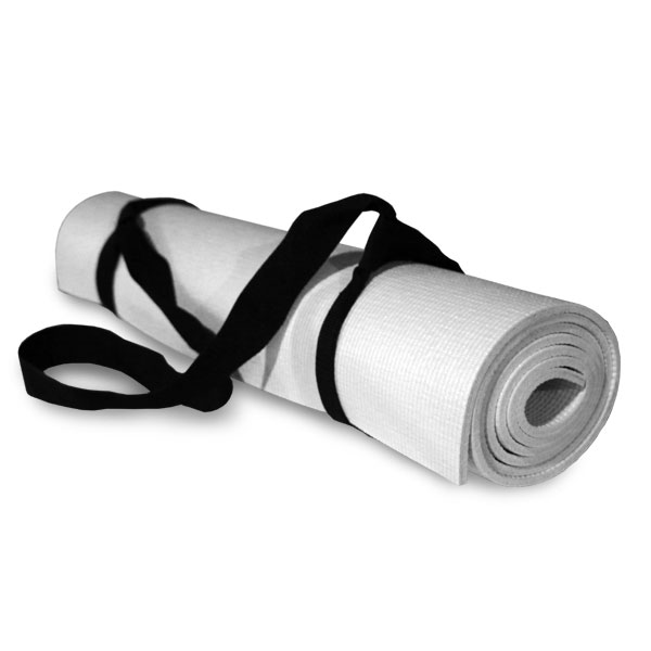 Personalized yoga mats all include an easy to carry sling for your mat