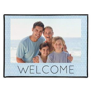 Photo personalized door mats are a great way to add a personal touch to your home