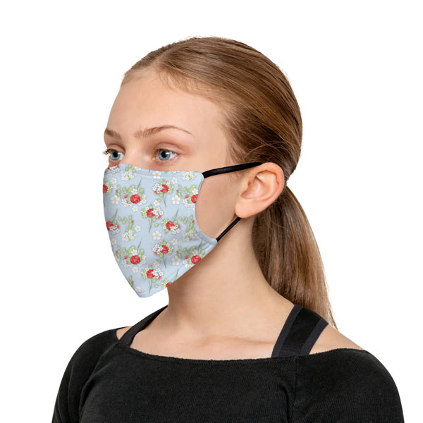 Choose from one of our many patterns to create your over the ear face mask